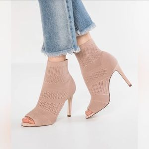Peep Toe Sock Boots from Call It Spring